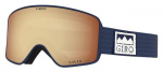 Giro skibril Method Vivid lens donkerblauw/bruin one-size