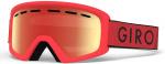 Giro skibril Rev junior rood/zwart/oranje one-size