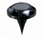 Grundig solar grondspot LED 12 cm zwart