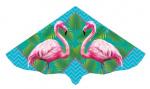 Günther vlieger flamingo junior 115 x 63 cm groen/roze