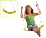 Happy People kunststof schommelzitje 68 x 14 cm geel