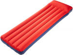 Happy People luchtbed 1-persoons 192 x 60 x 15 cm rood/blauw
