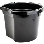 HORKA emmer voeder/drinkbak 8 liter zwart