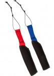 Invento kite-strapsr neopreen zwart/rood/blauw 2 stuks