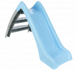 JAMARA glijbaan Happy Slide junior 123 x 60 cm lichtblauw/grijs