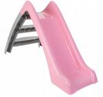 JAMARA glijbaan Happy Slide junior 123 x 60 cm roze/grijs