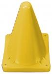Jonotoys speelgoed pionnen 4-delig geel 13 cm