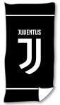 Juventus strandlaken 70 x 140 cm katoen zwart