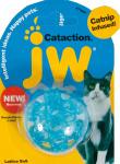 JW Pet Company kattenspeeltje Cataction kattenkruid 5,5 cm blauw