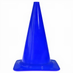 Kids At Work pylon 28 cm kunststof blauw per stuk