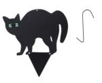 Kinzo kattenverjager 28 x 35 cm staal zwart 4-delig
