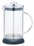 KitchenCraft cafetière Le'Xpress 1 liter glas zwart