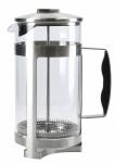 KitchenCraft koffie-giftset La Cafetière 1 liter RVS zilver