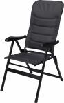 TOM campingstoel zwart 76x57x118 cm