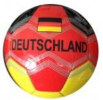 LG-Imports voetbal Duitsland 15 cm zwart/rood/geel
