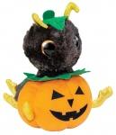 Lumo Stars knuffel Lumo Ant Antiboo Classic 15 cm zwart/oranje