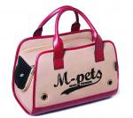 M-Pets draagtas hond/kat 40 x 20 x 28 cm polyester roze