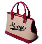 M-Pets draagtas hond/tas 41 x 18 x 28 cm polyester roze