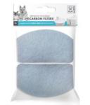M-Pets filter Indus/Neva drinkfontein 11 cm carbon wit 2 stuks