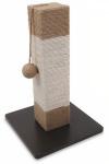 M-Pets krabpaal Fintina 30 x 46 cm sisal/jute bruin/beige