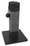 M-Pets krabpaal Ipala 30 x 46 cm sisal/jute zwart/grijs