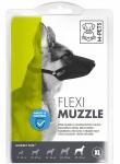 M-Pets muilkorf hond 30-35 x 1,5 cm nylon zwart