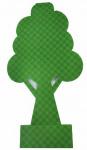 M-Pets 3D pop-up Pee Pee Tree 13 x 25 cm groen