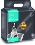 M-Pets trainingpads Carbon 60 x 60 cm textiel wit 15 stuks