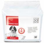 M-Pets trainingpads Economic 33 x 45 cm textiel wit 50 stuks