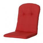 Madison buitenkussen Basic 45 x 96 cm katoen/polyester rood
