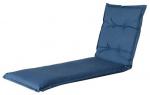Madison ligbedkussen Oxford 200 x 65 cm katoen/polyester blauw