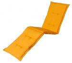 Madison ligbedkussen Panama 200 x 65 cm katoen/polyester geel