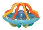 Manhattan Toy rammelaar My UFO junior 12 cm blauw/oranje