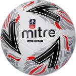 Mitre voetbal Delta FA Cup synthetisch wit/rood/zwart maat 5