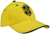 Brazilië Baseballcap World Triumph senior geel