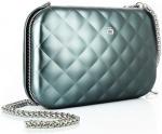 Ögon Designs clutch Rfid Lady Bag 20,5 cm aluminium groen