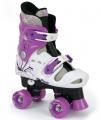 Osprey rolschaatsen verstelbaar meisjes wit/paars maat 32-36