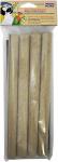 Penn Plax zandhulsjes 23 x 1,8 cm karton bruin 4 stuks