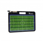 Precision coachbord Voetbal 42 x 32 cm zwart/groen 2-delig
