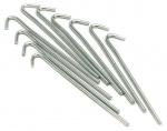 Precision haringen Precision staal zilver 10 stuks