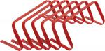 Precision horden buigbaar 22,8 x 48 cm PVC rood 6 stuks