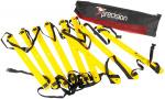 Precision trainingsladder Speed 2 meter nylon geel/zwart