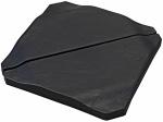 Pro Garden parasoltegel 50 x 50 cm 25 kg leisteen zwart