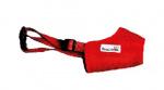 Doodlebone muilkorf hond airmesh 42 - 49 cm rood