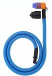Source drinkwaterslang Weave 95 cm neopreen lichtblauw