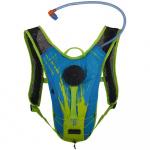 Source waterzak Spinner NC 1,5 liter polyester blauw/groen