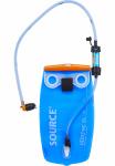 Source waterzak Widepac met filter 3 liter polyetheen blauw