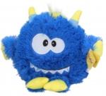 Sunkid knuffel Monster junior pluche 21 cm donkerblauw