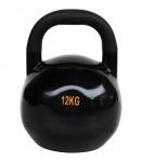 Sveltus kettlebell zwart 12 kg