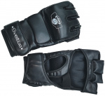 Sveltus MMA-handschoenen 24 x 14,5 cm PU/polyester zwart mt M